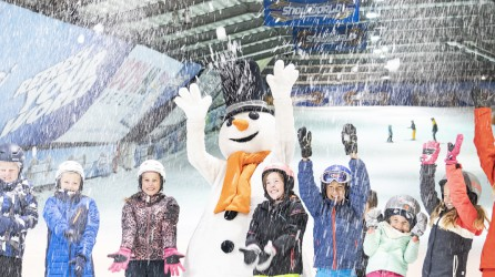 Snowworld header sneeuwen